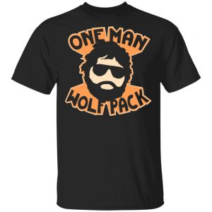 One Man Wolf Pack Shirt