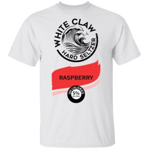 White Claw Halloween Costume Raspberry Shirt