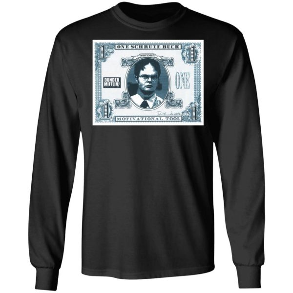 The Office Schrute Buck Motivational Tool Shirt