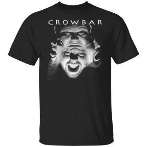 Crowbar Planets Collide Shirt Apparel