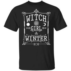 Witch Girl Winter Shirt
