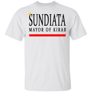 Sundiata Mayor Of Kirab Shirt