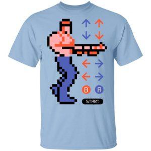 Contra Konami Code Shirt Apparel