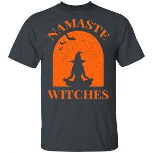 Namaste Witches Halloween Shirt