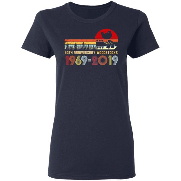 Vintage Woodstocks 50th Anniversary Peace Love 1969 – 2019 Shirt