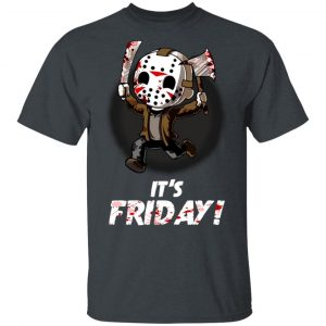 It's Friday Funny Halloween Horror Graphic Shirt