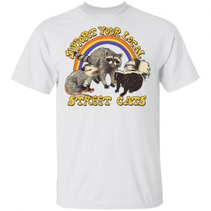 Support My Local Street Cats Shirt