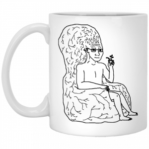 Big Brain Wojak Mug