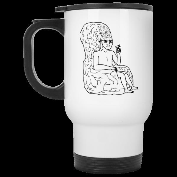 Big Brain Wojak Mug Coffee Mugs 4