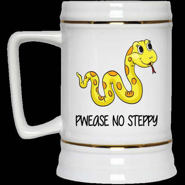 Pwease No Steppy Mug Coffee Mugs 6