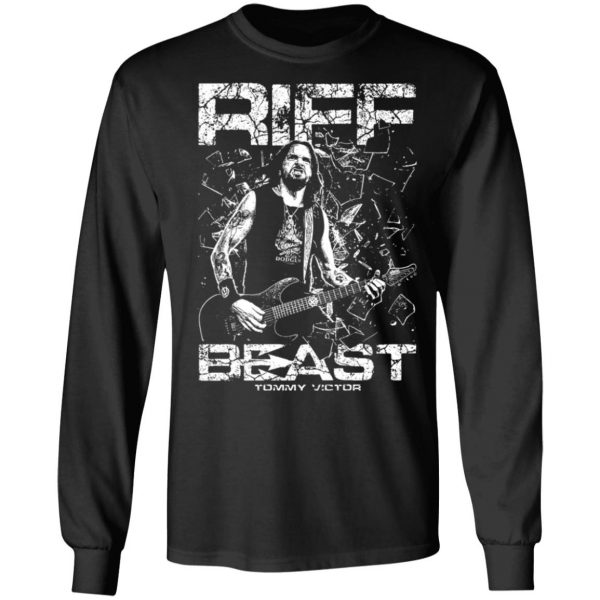 Tommy Victor Prong Riff Beast T-Shirts