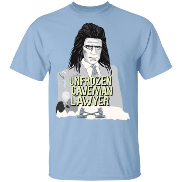 Saturday Night Live Unfrozen Caveman Lawyer T-Shirts Apparel 3