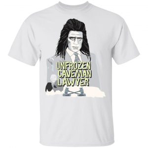 Saturday Night Live Unfrozen Caveman Lawyer T-Shirts Apparel 2