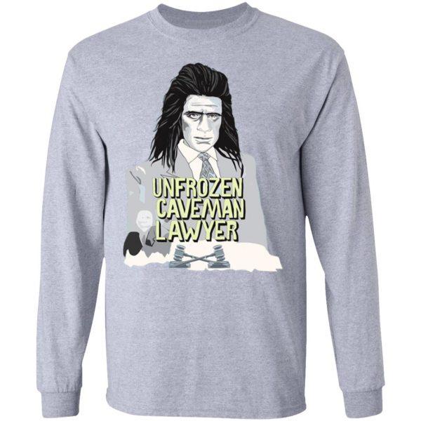 Saturday Night Live Unfrozen Caveman Lawyer T-Shirts