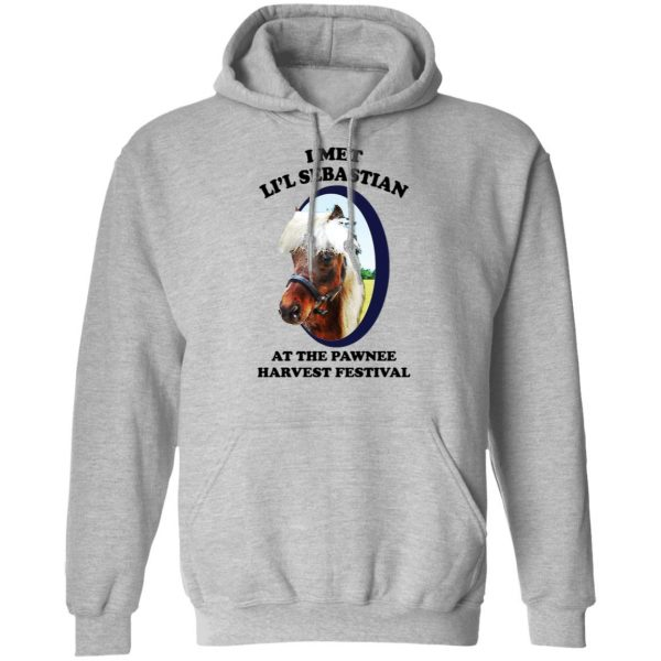 Parks and Recreation I Met Li'l Sebastian At The Pawnee Harvest Festival T-Shirts Apparel 12