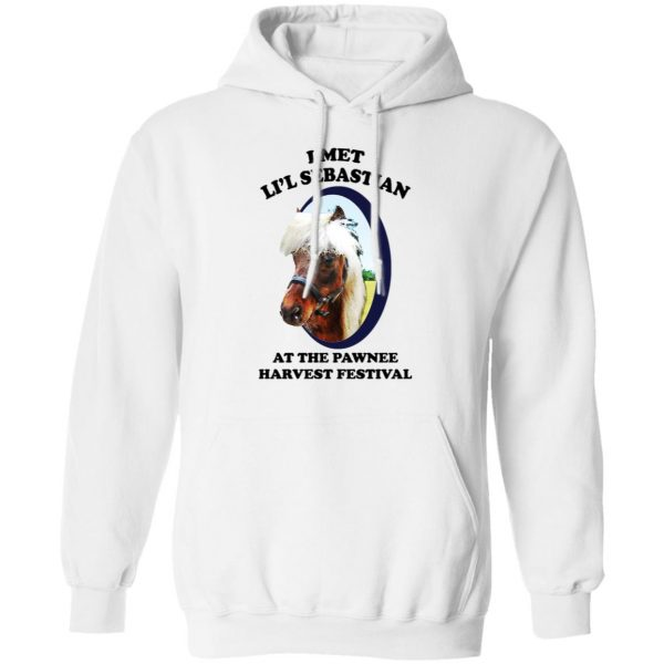 Parks and Recreation I Met Li'l Sebastian At The Pawnee Harvest Festival T-Shirts Apparel 13