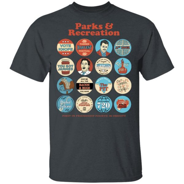 Parks and Recreation Quote Mash-Up T-Shirts