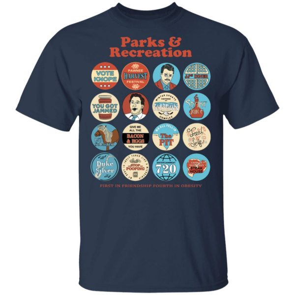 Parks and Recreation Quote Mash-Up T-Shirts Apparel 5