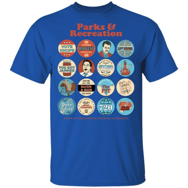 Parks and Recreation Quote Mash-Up T-Shirts Apparel 6