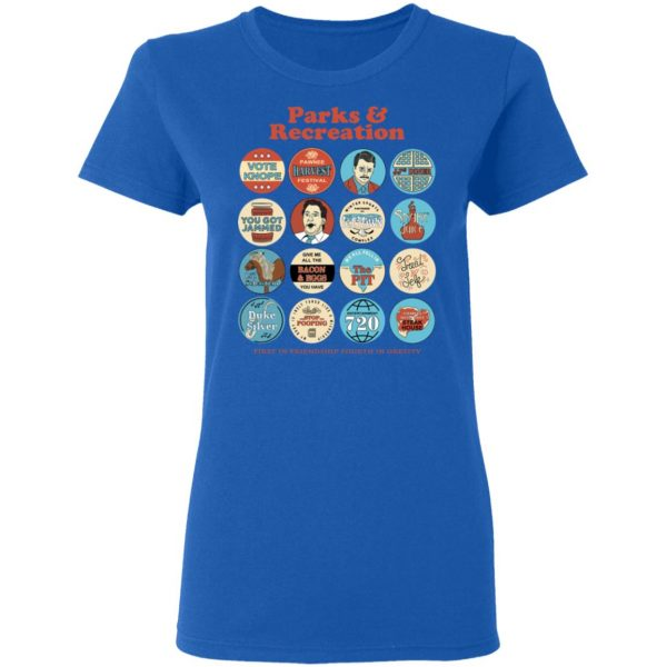 Parks and Recreation Quote Mash-Up T-Shirts Apparel 10