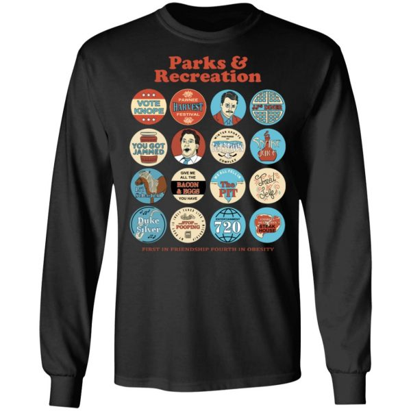 Parks and Recreation Quote Mash-Up T-Shirts Apparel 11