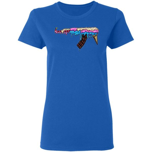 Ice Cream Gun T-Shirts Apparel 10