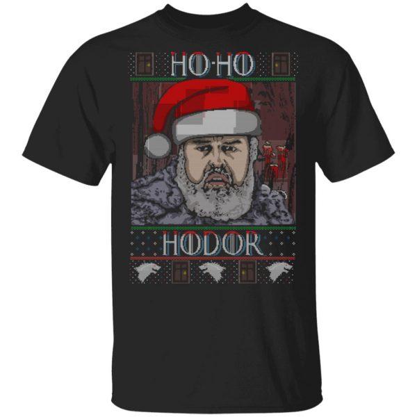 Ho Ho Hodor Face Sweater, T-Shirts Apparel 3