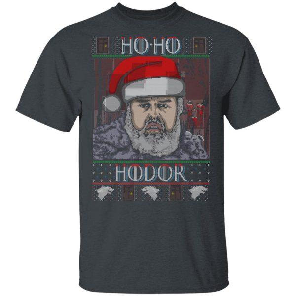 Ho Ho Hodor Face Sweater, T-Shirts Apparel 4