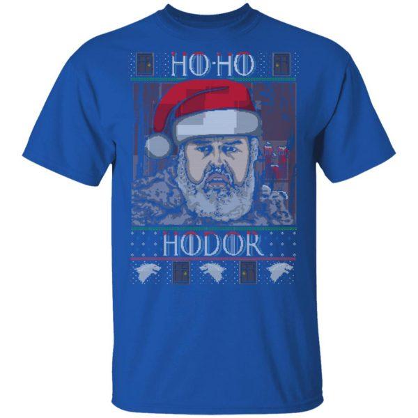 Ho Ho Hodor Face Sweater, T-Shirts Apparel 6