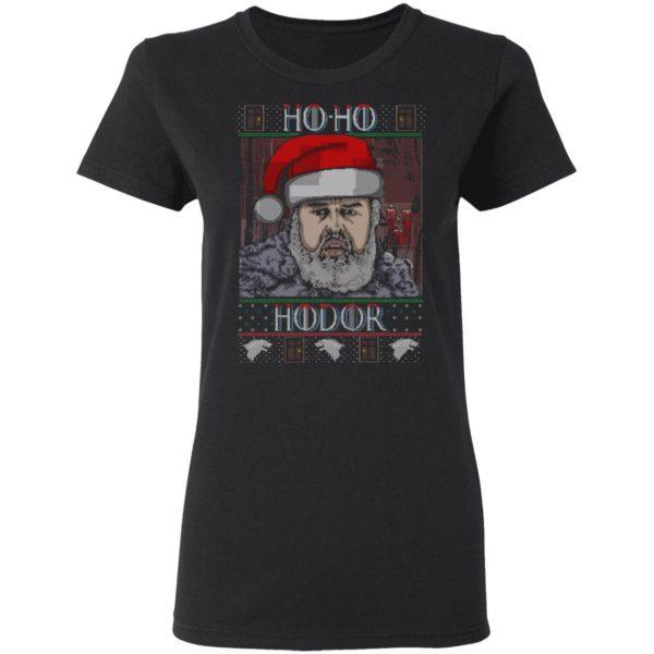 Ho Ho Hodor Face Sweater, T-Shirts Apparel 7