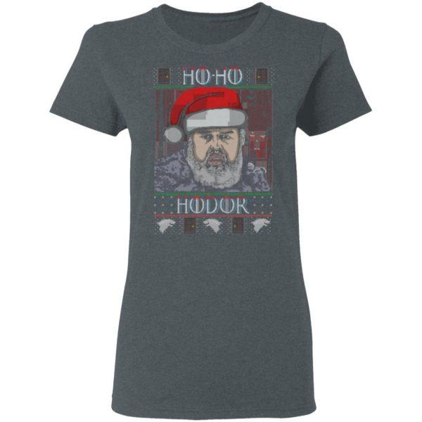 Ho Ho Hodor Face Sweater, T-Shirts Apparel 8