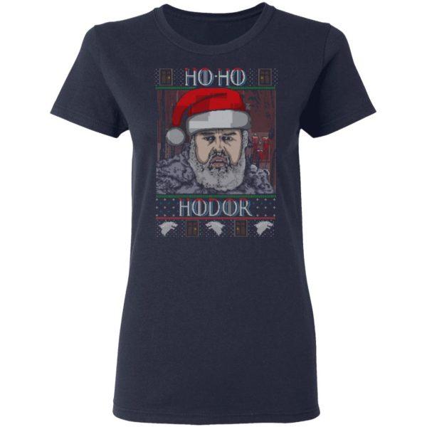 Ho Ho Hodor Face Sweater, T-Shirts Apparel 9
