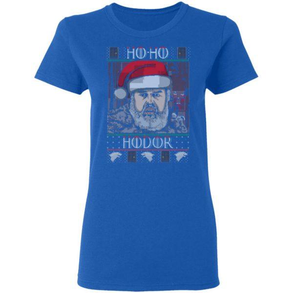 Ho Ho Hodor Face Sweater, T-Shirts Apparel 10