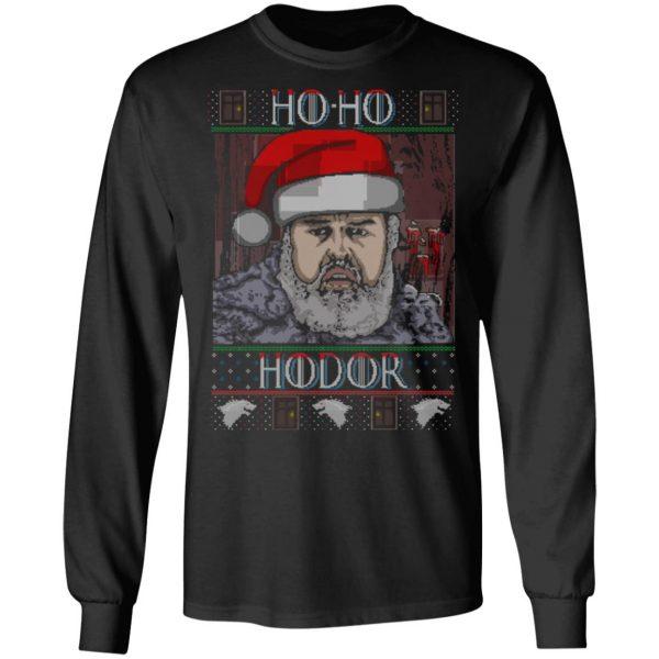 Ho Ho Hodor Face Sweater, T-Shirts Apparel 11