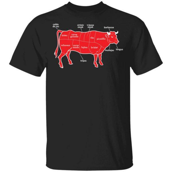 Tex-Mex Cow Shirt Apparel 3