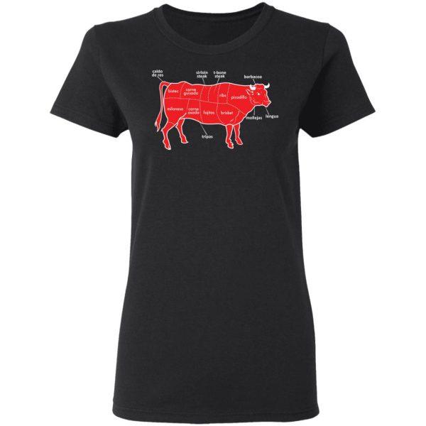 Tex-Mex Cow Shirt Apparel 7