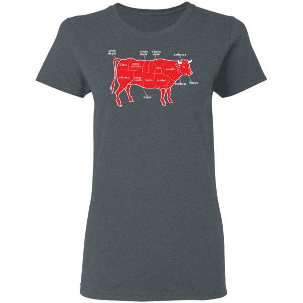 Tex-Mex Cow Shirt Apparel 8