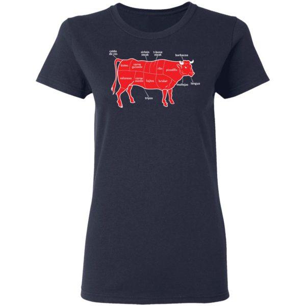 Tex-Mex Cow Shirt Apparel 9