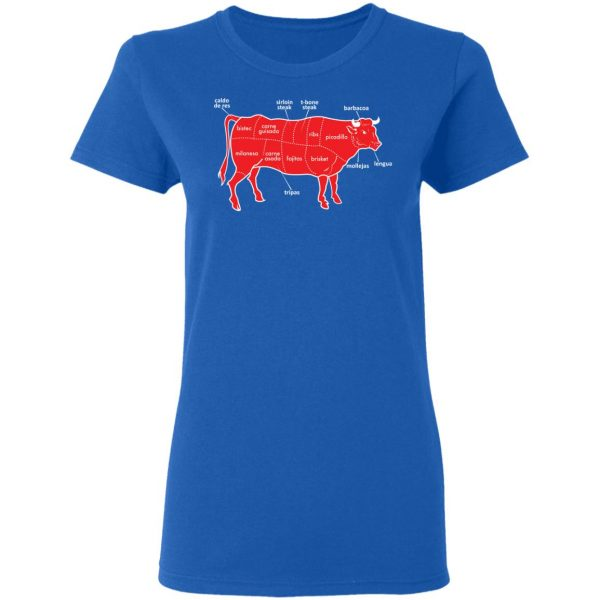Tex-Mex Cow Shirt Apparel 10
