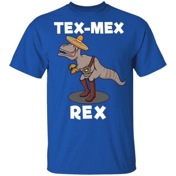 Tex Mex Rex Texas Mexican Cowboy Tyrannosaurus Dinosaur T Shirt Apparel 6