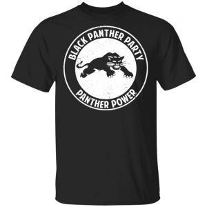 Black Panther Party Panther Power T-Shirts