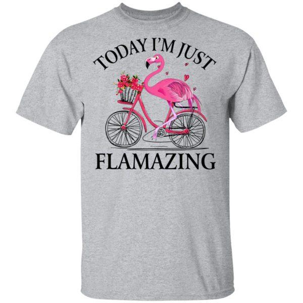 Today I'm Just Flamazing Flamingo T-Shirts