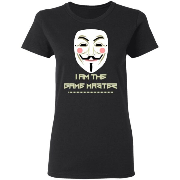 Anonymous Mask Project Zorgo Game Master T-Shirts