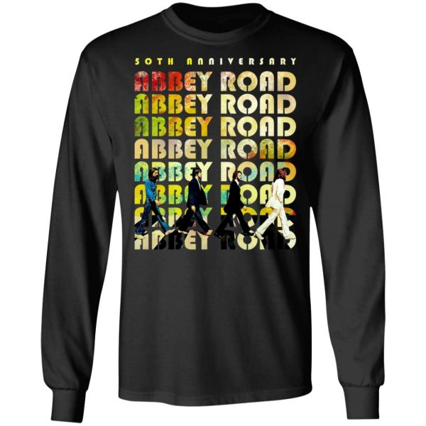 The Beatles Abbey Road 50th Anniversary T-Shirts