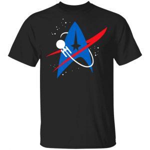 Star Trek Mixed Nasa Badge T-Shirts