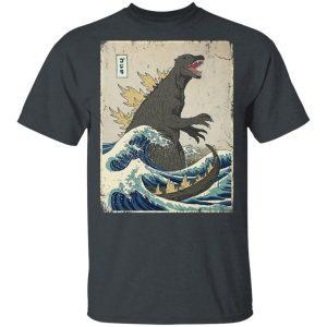 The Great Godzilla Off Kanagawa T-Shirts