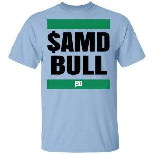 $AMD Bull T-Shirts Apparel