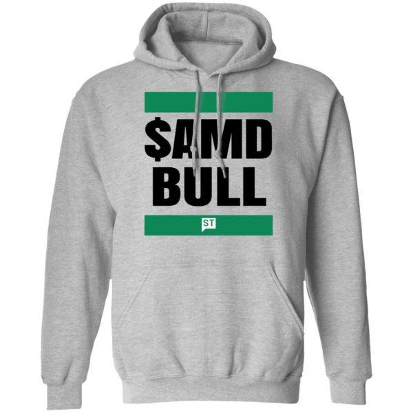 $AMD Bull T-Shirts