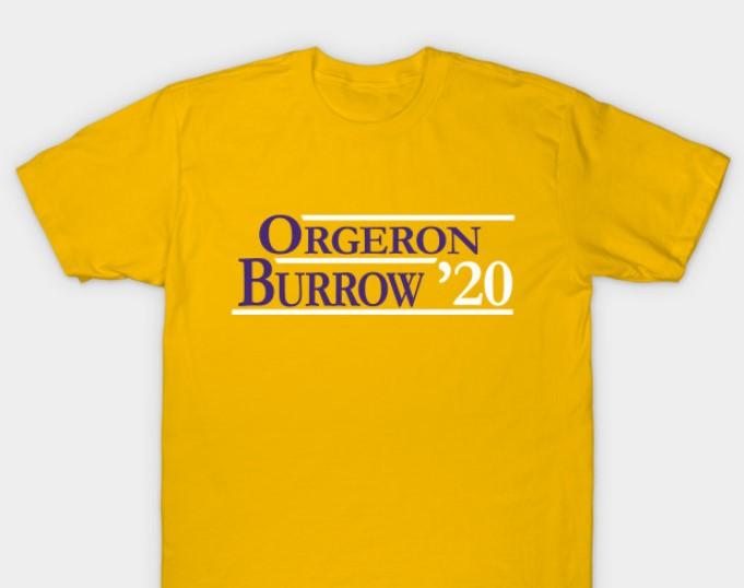 Orgeron Burrow 2020