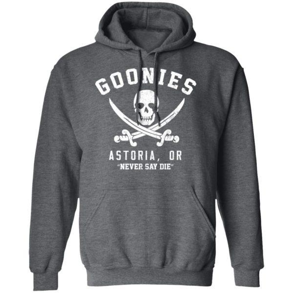 Goonies Astoria Never Say Die T-Shirts